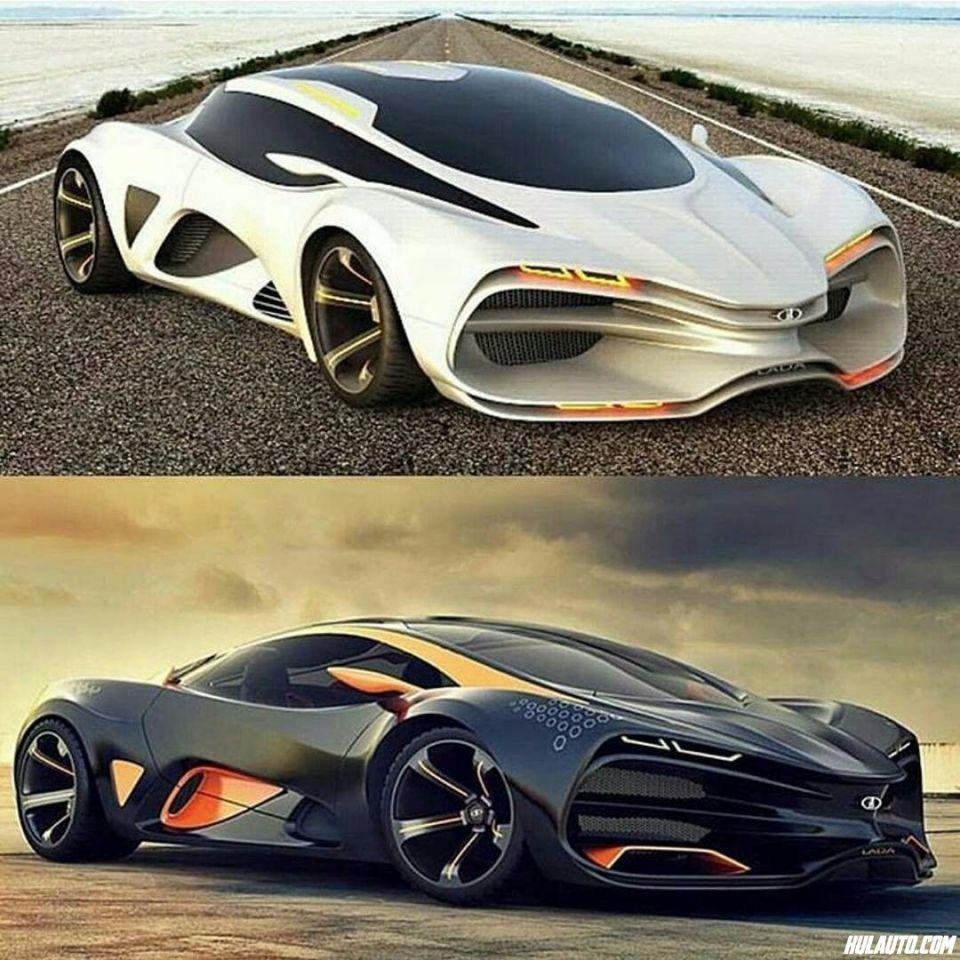 Šta kažete za novi Lada Raven koncept :)