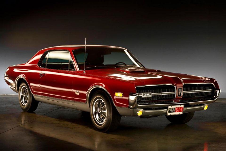 Mercury Cougar GT-E 1968
