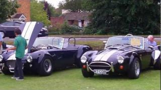 AC Owners Club 100th Anniversary of AC Cars in Thames Ditton