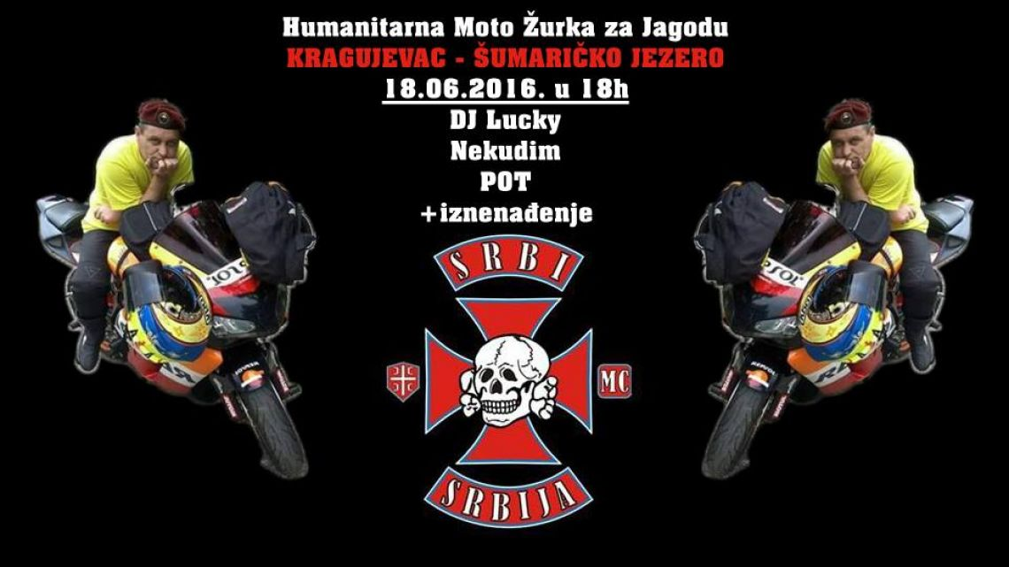 Humanitarna Moto Žurka, MC SRBI Kragujevac za Jagodu