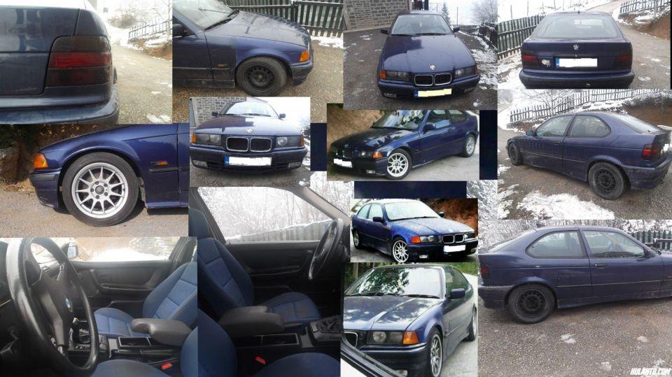 Prodajem Bmw E36 316i compact 1.6 benzin-plin(atest)Registrovan do 8/2016El.podizači stakalaCD/mp3Alu felge x4Čelične felge x4Boja :  Plava,metalik.Samo Bosna i Hercegovina,auto se nalazi u Sarajevu...CIJENA : 4 000 KM