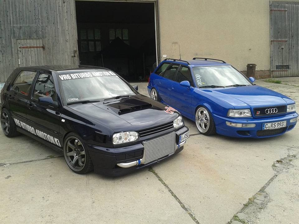 VW Golf 3 Vr6 BIturbo 4 motion & Audi