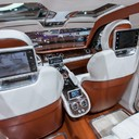 Bentley SUV enterijer