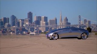 Car Tech - Mercedes-Benz F 015 concept car