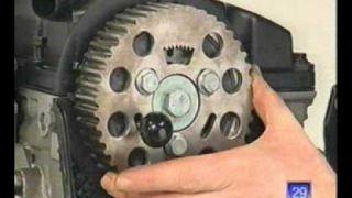 Timing belt change for 1.9PDTDI engines (Hungarian language)