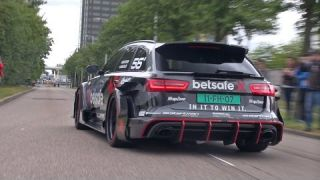 1000HP Audi RS6 DTM - REDLINE Revs + Accelerations!