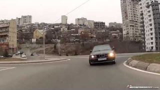 Luda vožnja BMWom