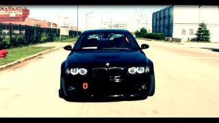 BMW M3 E46 Drift and Wheelspins